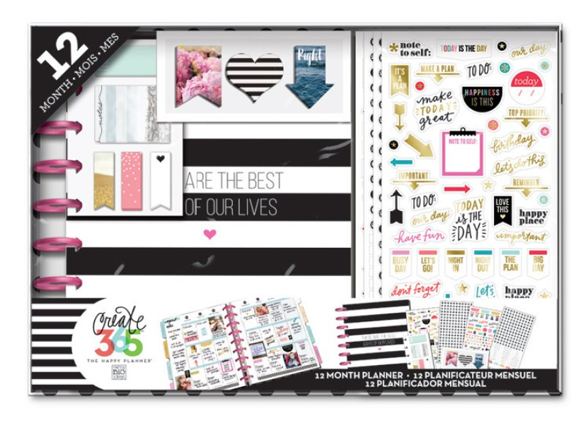 The Happy Planner 12 month Box Kit - Best Days