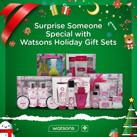 Watsons Philippines Holiday Gift Sets