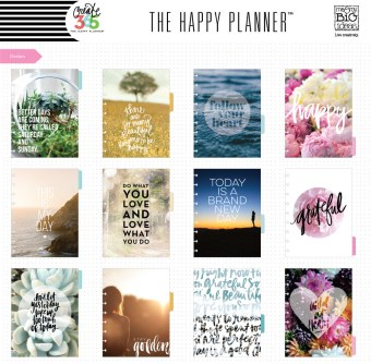 Happy Planner Dividers
