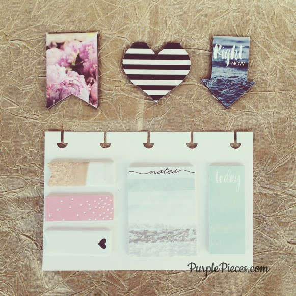 Happy Planner Sticky Notes - Magnetic Bookmarks