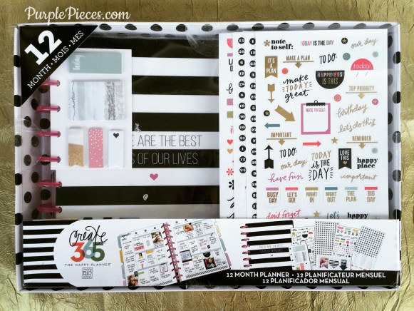 The Happy Planner 12 Month Kit Best Days