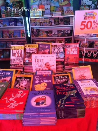 2016 Scholastic Summer Warehouse Sale Books