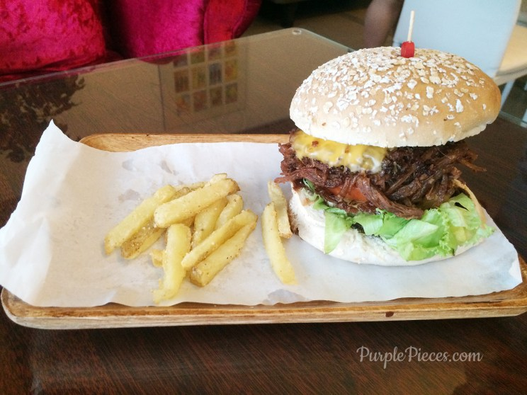 Pulled Pork BBQ Burger