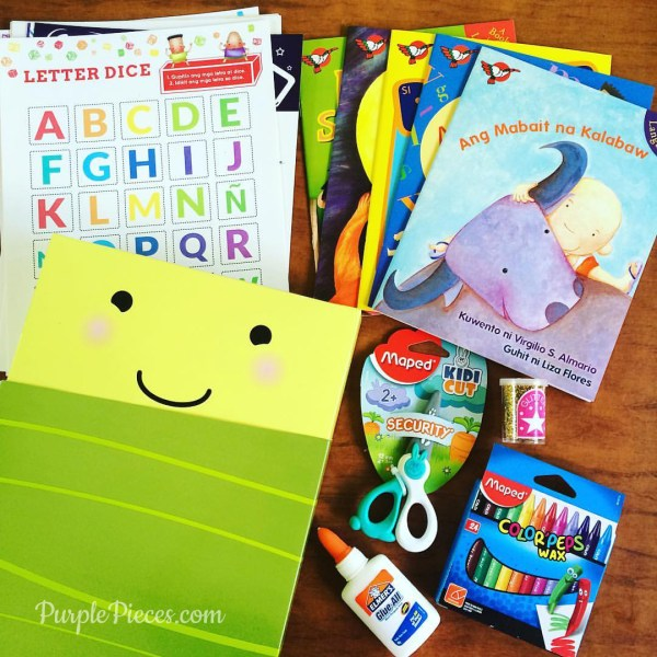 Buribox Subscription Box for Filipino Children