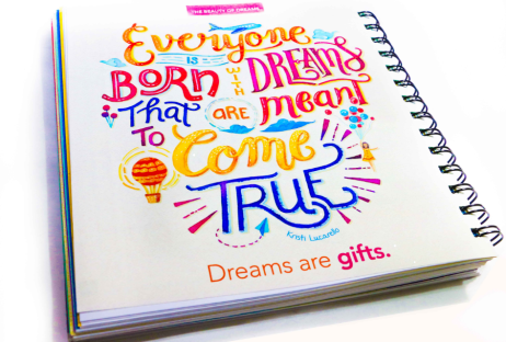 Dreambook - Inspirational Quote