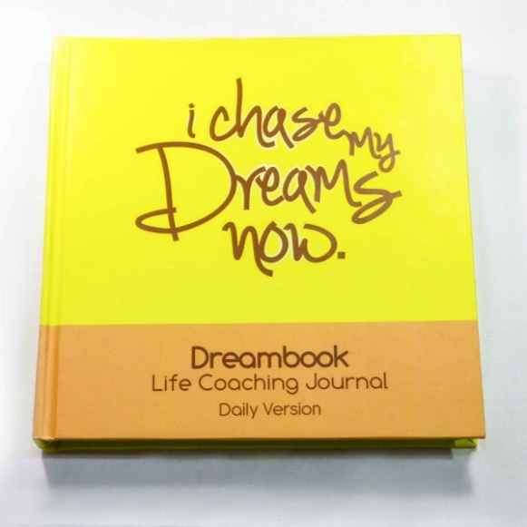 HARDBOUND DREAMBOOK I CHASE MY DREAMS NOW – DAILY PLANNER