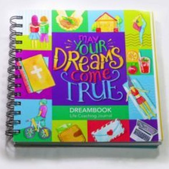 WIREBOUND DREAMBOOK MAY YOUR DREAMS COME TRUE – DAILY PLANNER