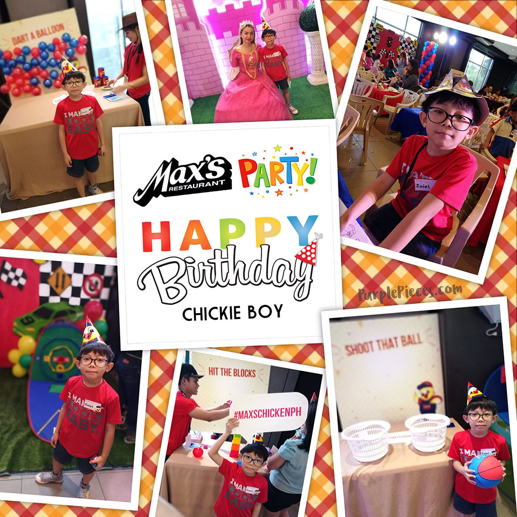 Max's Party Packages for Your Child's Birthday Celebration