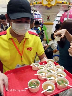 SM Kids City Food Taste Freebies