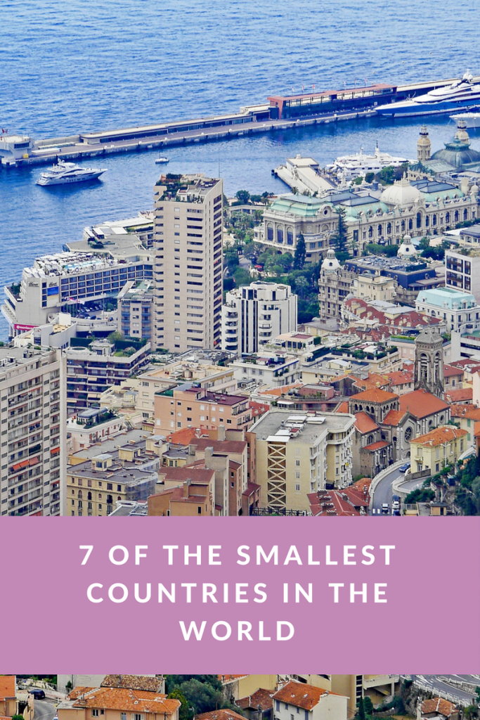 7 of the Smallest Countries in the World