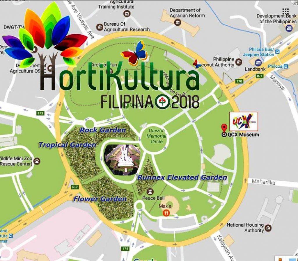 HortiKultura 2018 Map Events