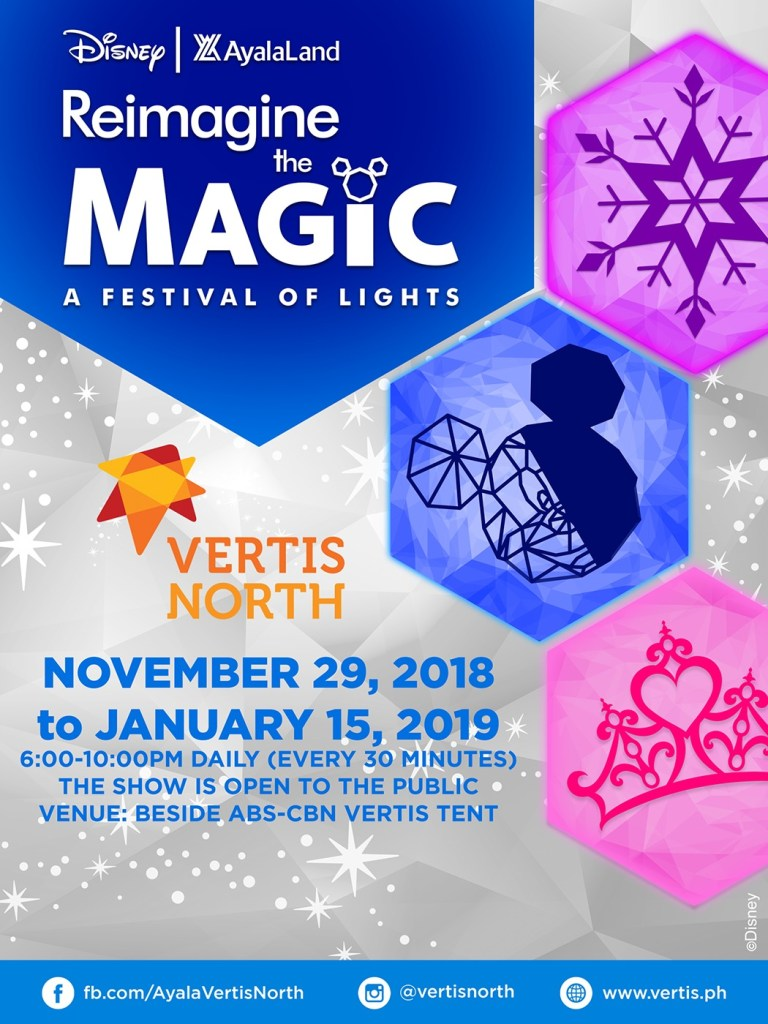 0eb24010bd29d3 VERTIS North reimagine the magic a festival of lights 2018 schedule
