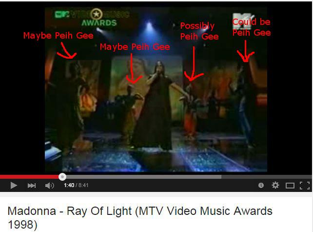 Peih Gee- Madonna video
