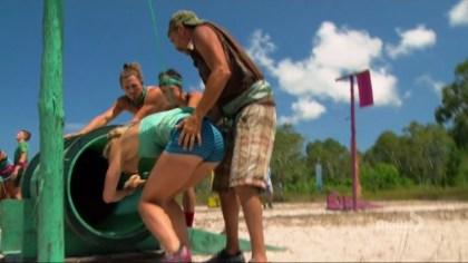 Cambodia- Keith grabs Kelley butt