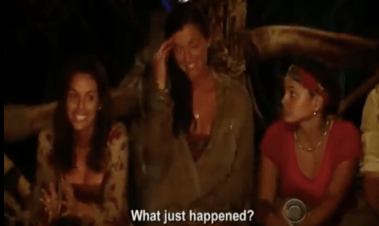 Parvati and Danielle, what just happened