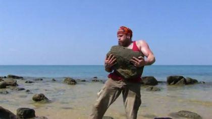 Kaoh Rong- Kyle Jason got a very big rock