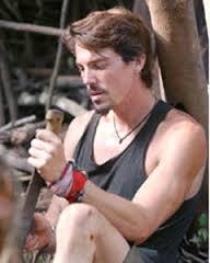 Matt von Ertfelda with machete
