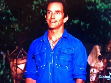 Survivor One World Jeff Probst Double take 2