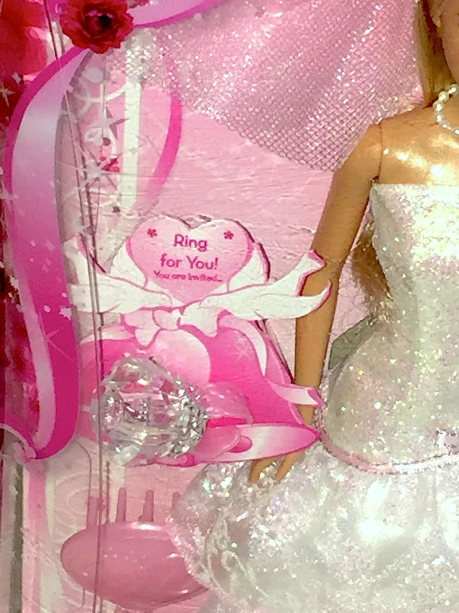 Barbie Doll Wedding Day Sparkle Plus Accessories