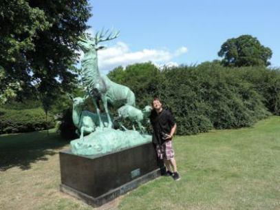 Bear At The King's Garden