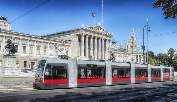 Vienna Ring And Tram Culture Shock