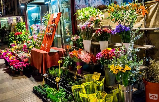 Flowers in Vienna Markets