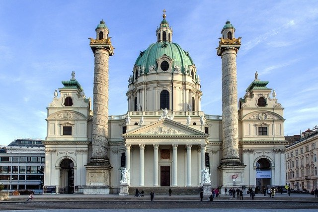 Karlskirche St Charles Church Districts of Vienna
