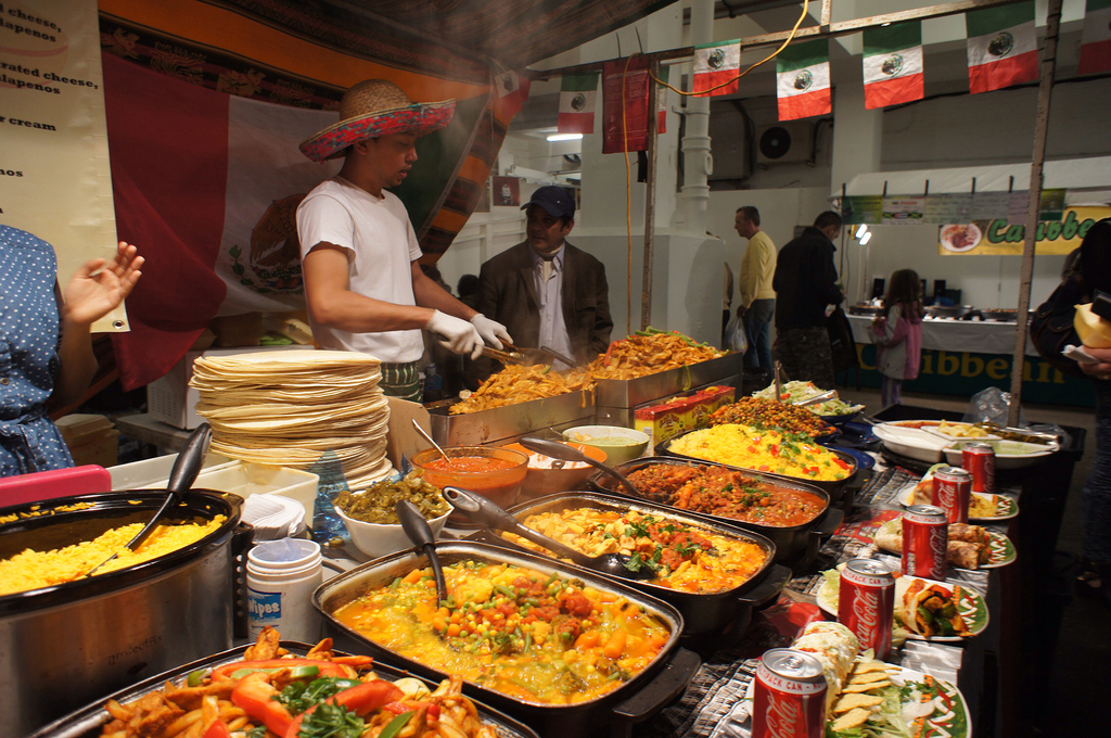 London Food Markets Brick Lane
