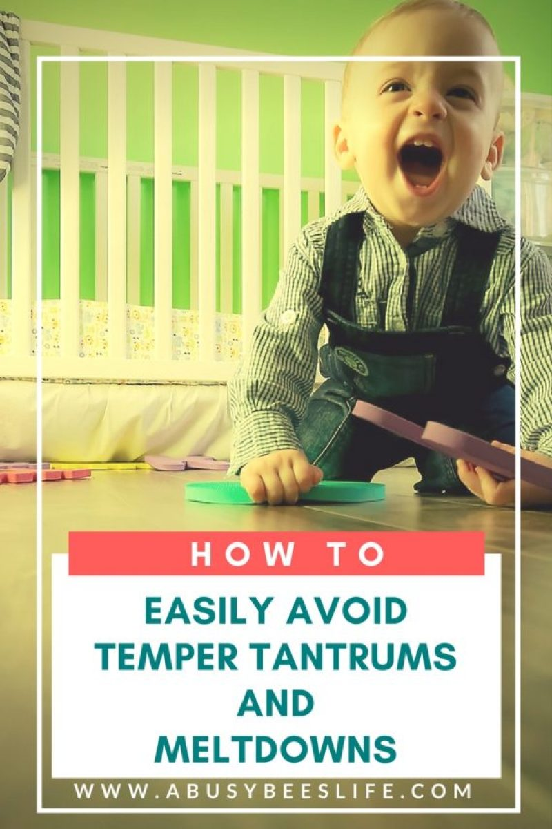 Heard about the terrible two's? Brace yourself but don't panic. Here are great easy ways to avoid toddler temper tantrums and meltdowns. Great tips and strategies to help you cope, manage and save your sanity. Click through to learn more!