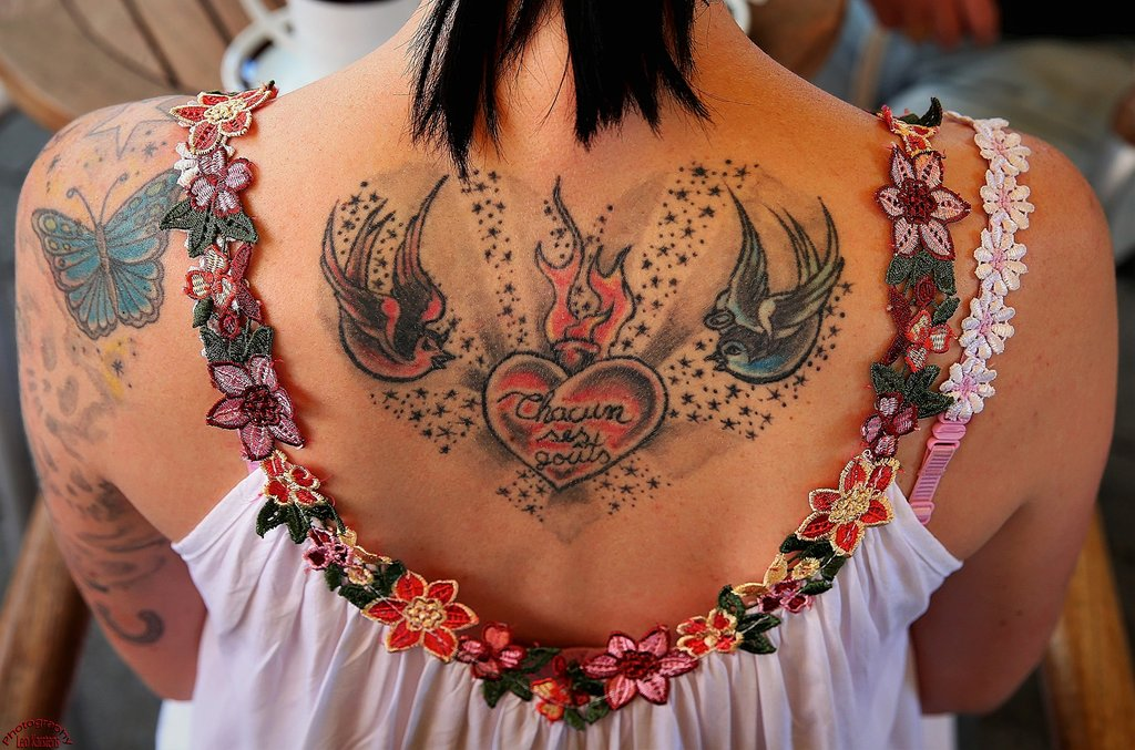 The four most tattooed countries in the world China ABBL