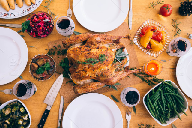 How to survive Thanksgiving with your family Food on the table