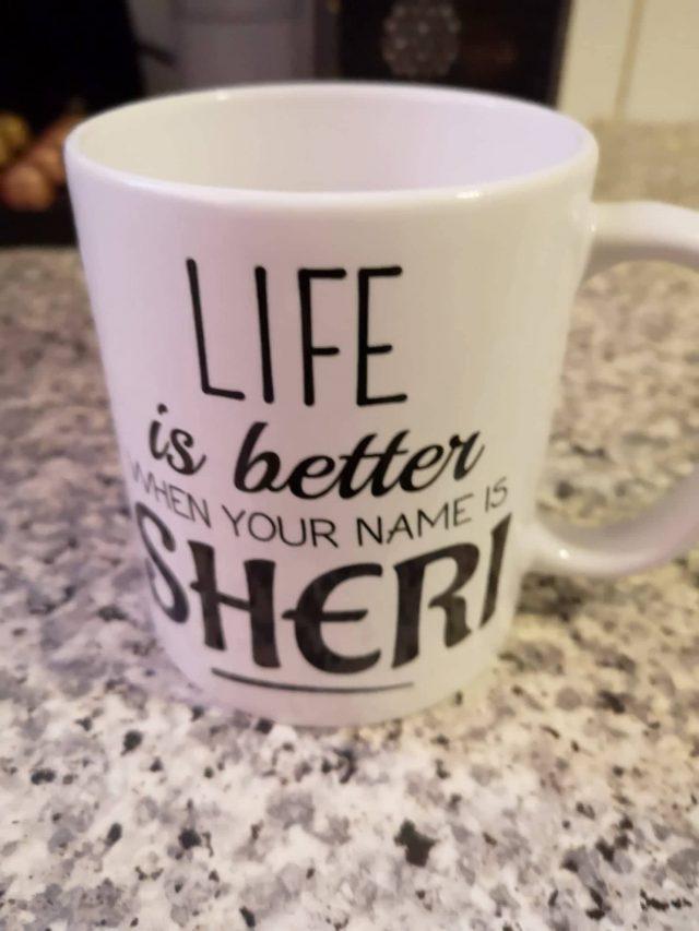 Coffee mugs, customized coffee mug, abusybeeslife, Sheri mug, Best Gifts for Coffee Lovers, All Under $15!