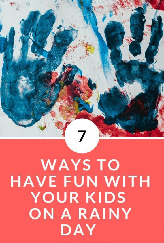 There are so many ways to have fun with your kids on a rainy day. Click through to learn how