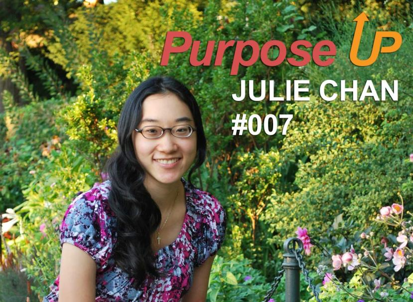 Julie Chan Purpose Up