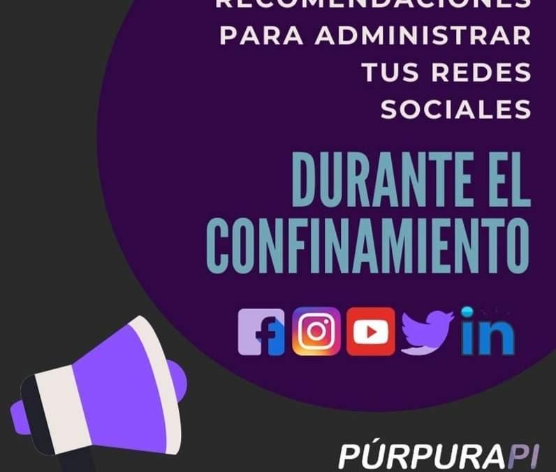 Redes sociales durante el periodo de confinamiento