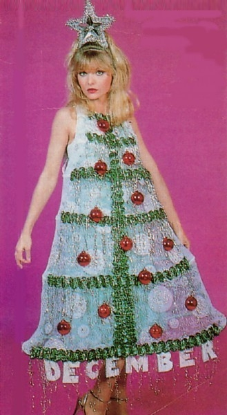Adding to the appeal, Stephanie Zinone wore a Christmas tree dress for the talent show scene - an added bonus due to the proximity of my birthday to the holiday.