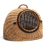 Prestige Wicker Igloo Pet Carrier