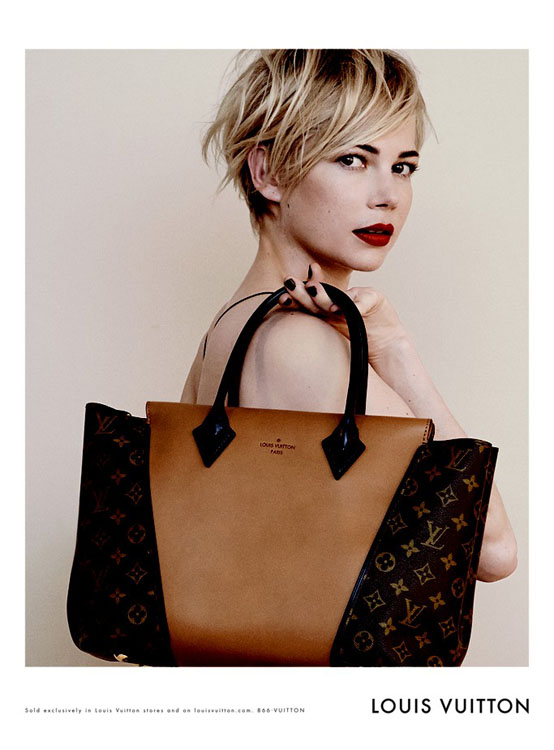 Michelle Williams Louis Vuitton W Bag 1