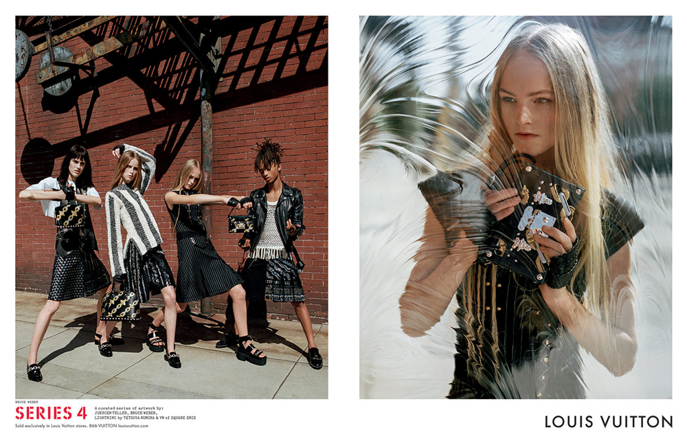 Louis Vuittons Spring 2016 Ads Stars A Final Fantasy