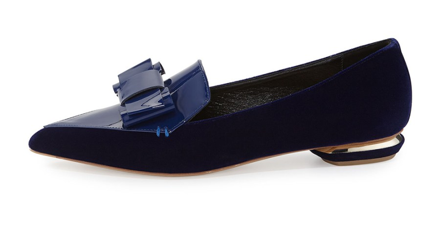 Nicholas-kirkwood-nicholas-Kirkwood-beya-velvet-point-toe-loafer
