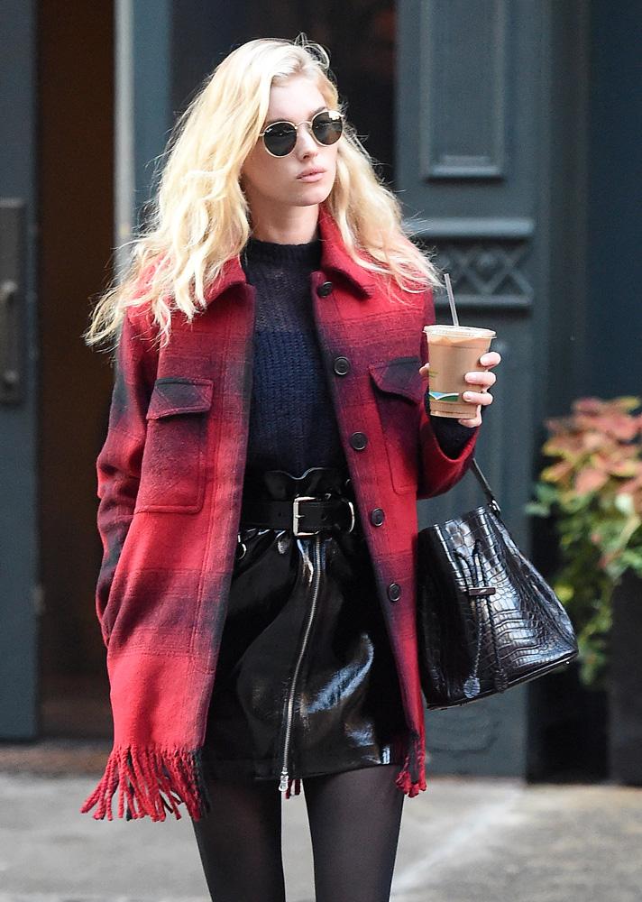 Celine Black Leather Purse