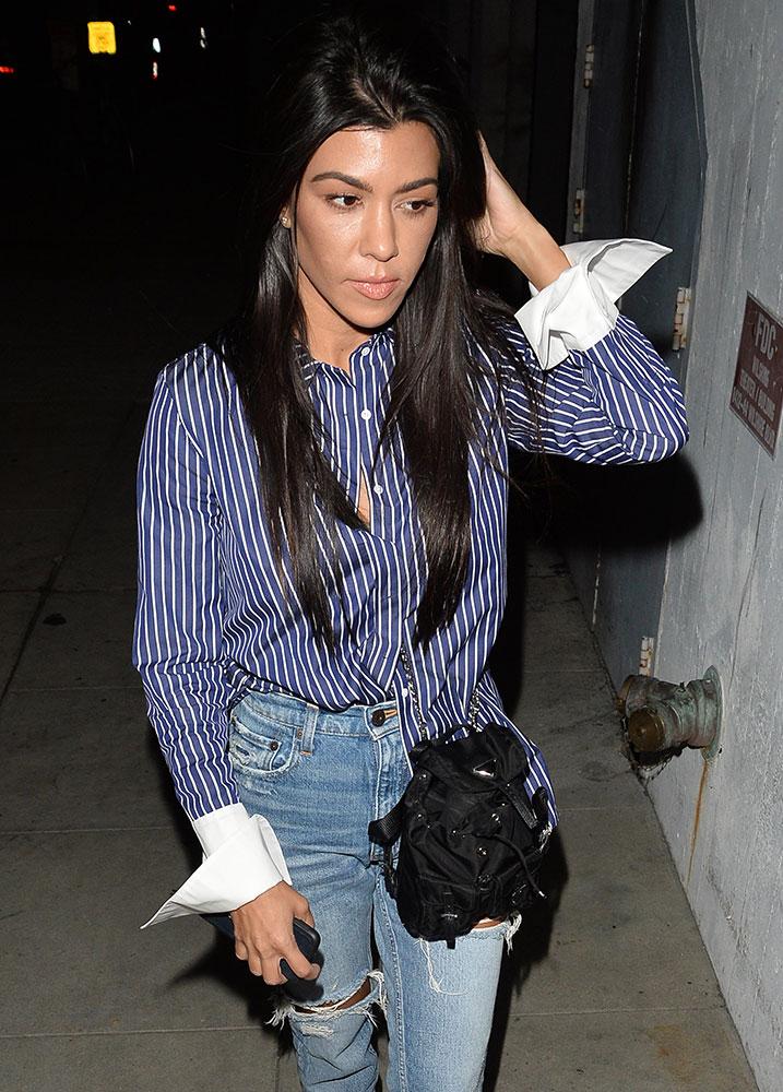 Kourtney Kardashian Prada Tessuto Mini Backpack - PRACHTIGE NIEUWE STIJLEN VAN GUCCI, FENDI, EN ALEXANDER WANG DESIGNER TASSEN
