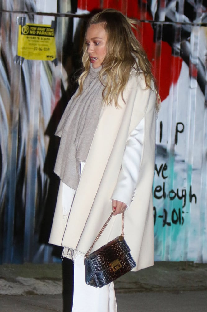 048cb0df27c Hilary Duff carried this gorgeous exotic version of the Givenchy GV3 Bag in  one scene.