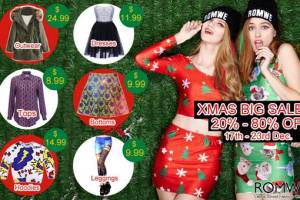Romwe Christmas Sales