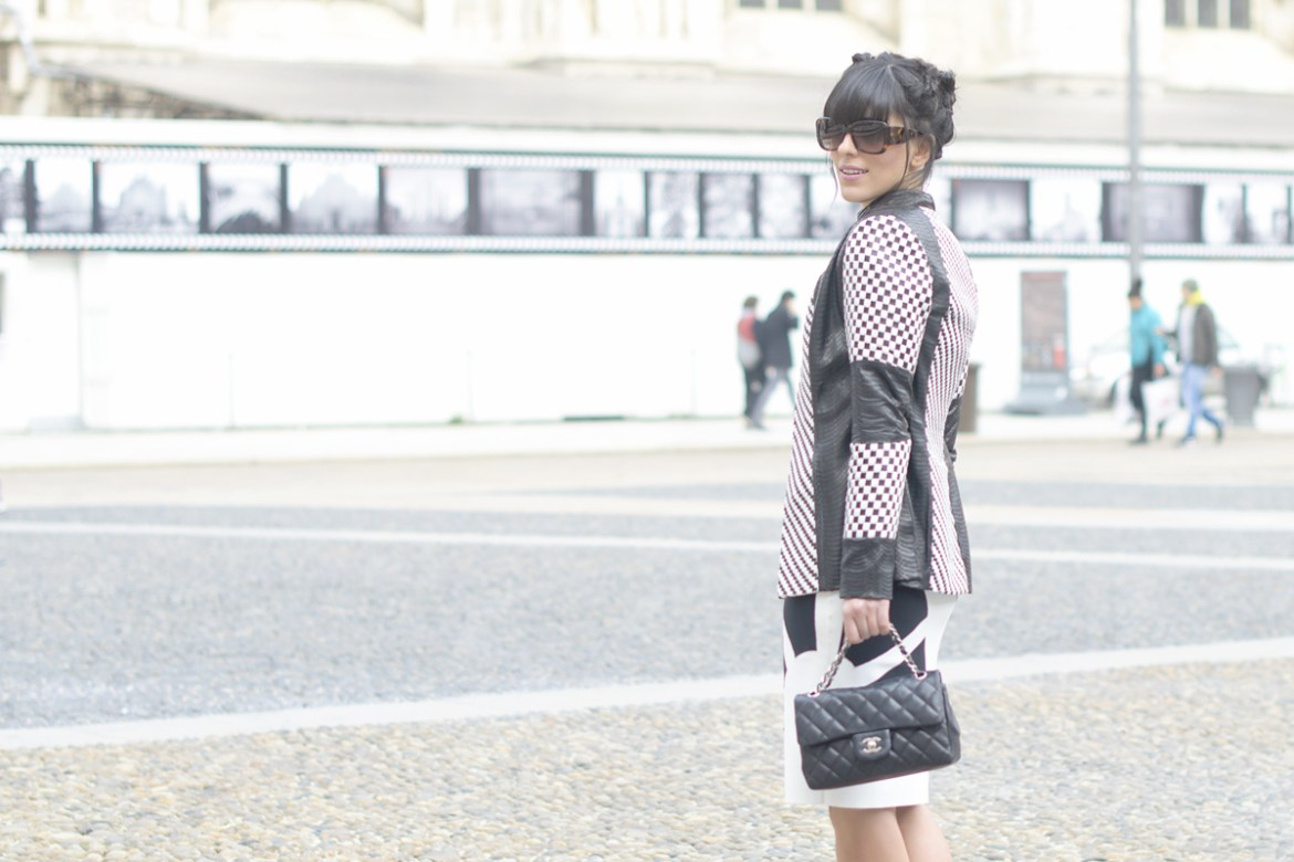 Milan Fashion Week & Un outfit bianco e nero