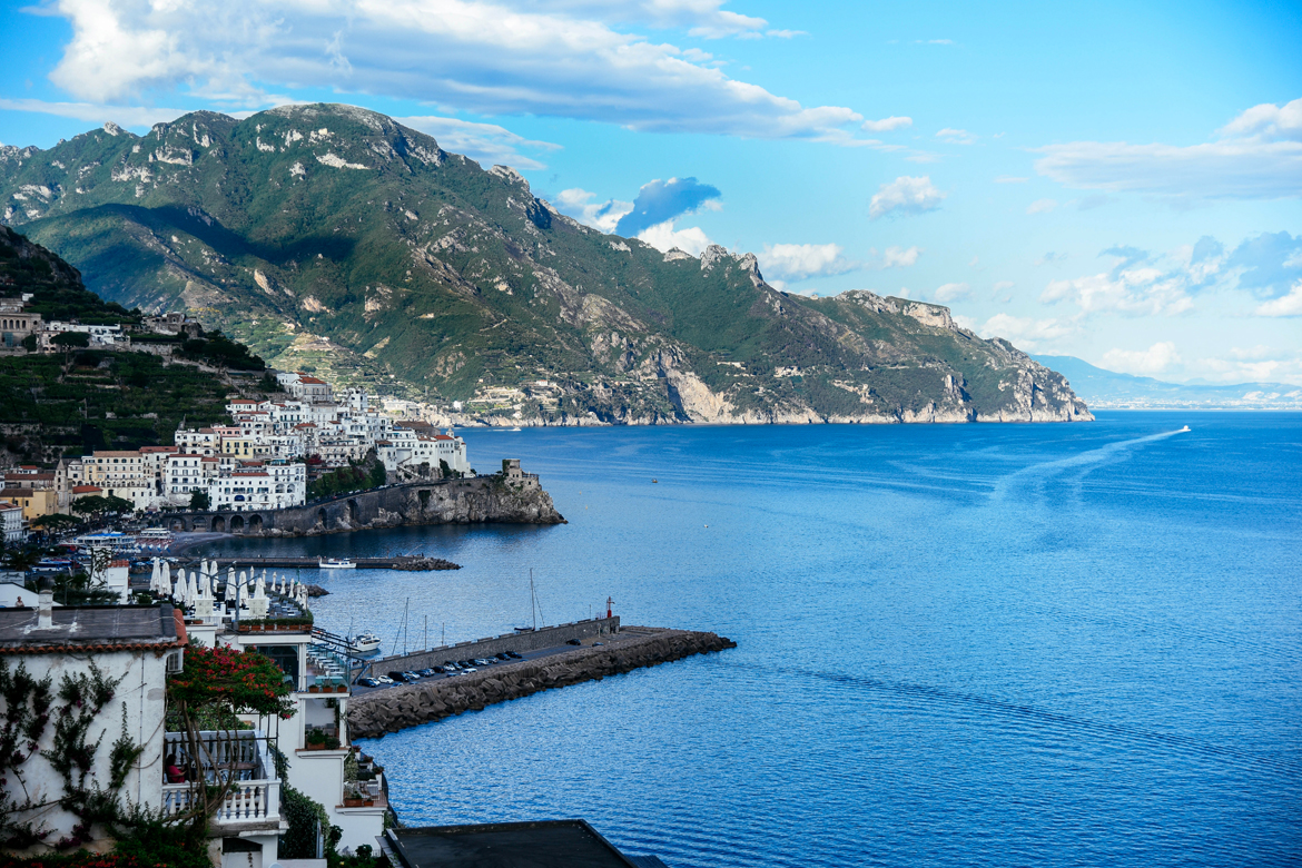 Vista dall'Hotel Santa Caterina, Amalfi - Il mio tour della costiera amalfitana con i Leading Hotels of the World