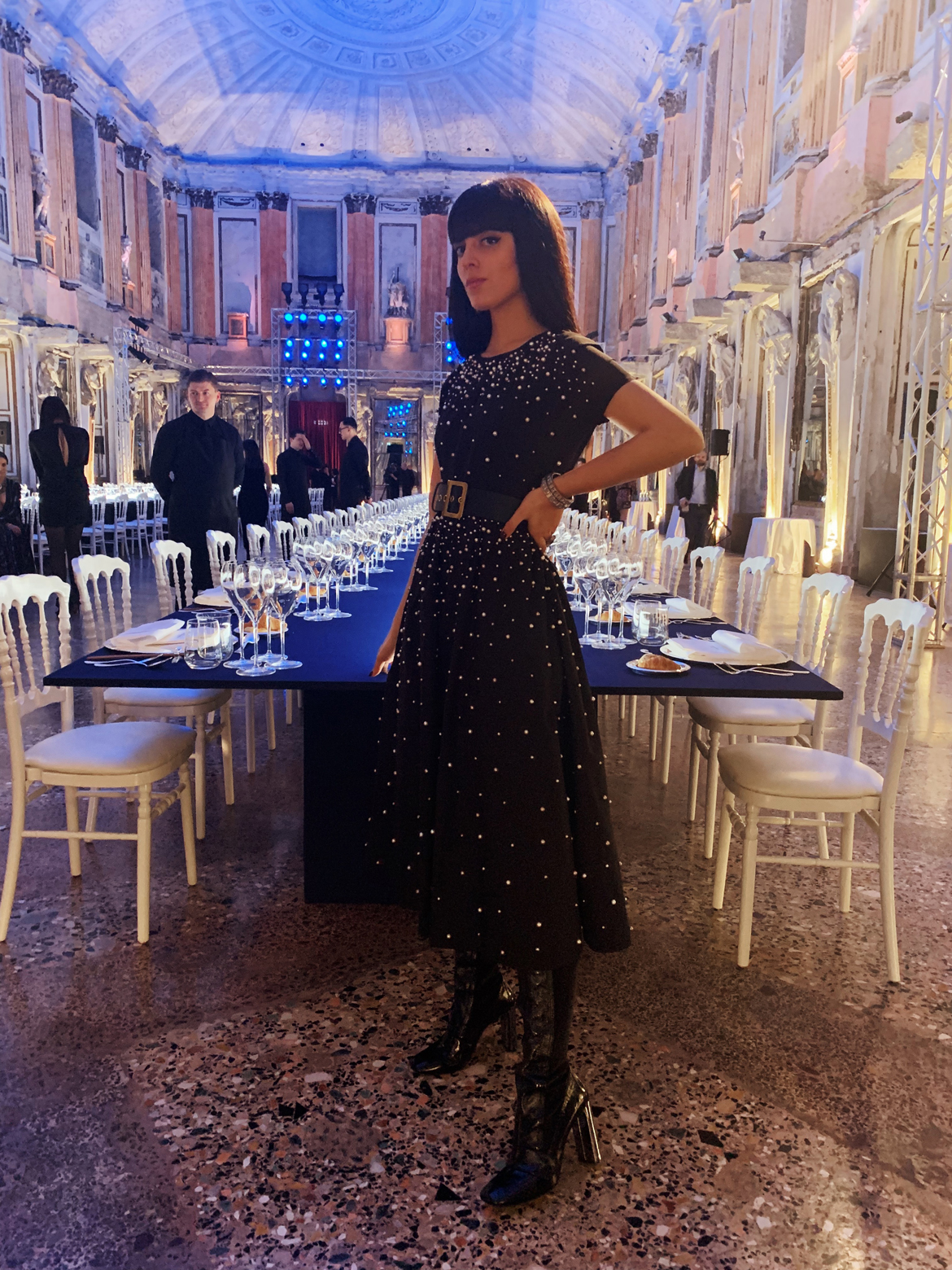 Fashion Week di Milano e Parigi 2019: Cosa ho indossato. Laura Comolli indossa Red Valentino al Gala Dinner S.Pellegrino