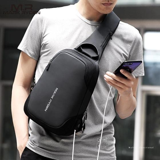 Fashion USB Charging Crossbody Sling Bag Mini Julius