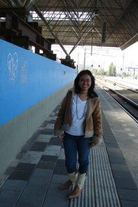 @Breda Train Stasiun 7 Sept 2009