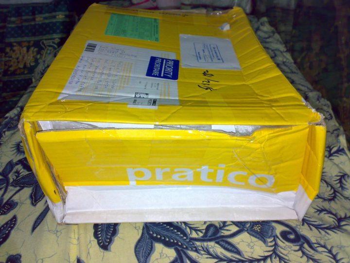 Akhirnya datang juga Paket I dari Switzerland